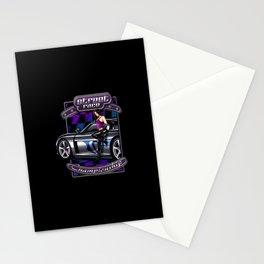 Street race Stationery Cards