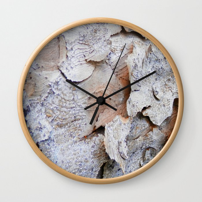 Tree Bark rustic decor Wall Clock