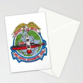 USS GEORGE WASHINGTON (SSBN-598) PATCH Stationery Cards
