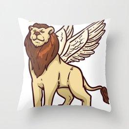 Angel Gift Heaven Cheru Heaven Messenger Throw Pillow