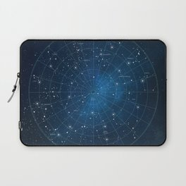 Constellation Star Chart Laptop Sleeve