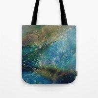batik Tote Bags featuring Oceana Batik by GypsyBohemian