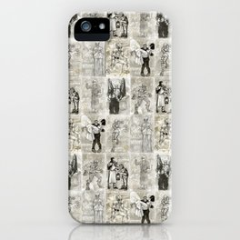 Universal Monster Pattern iPhone Case