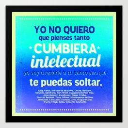 Cumbia Art Print