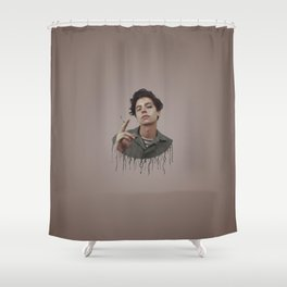 DRIPPING MADNESS Shower Curtain