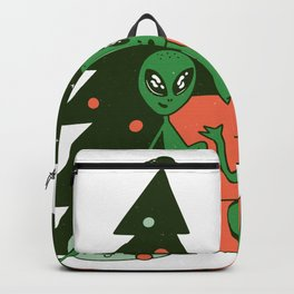 Alien Christmas Backpack