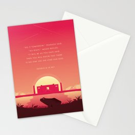 Plague Of The Frogs Stationery Cards
