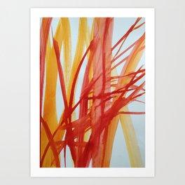 alberi di vetro Art Print