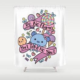 Do No Harm! Shower Curtain