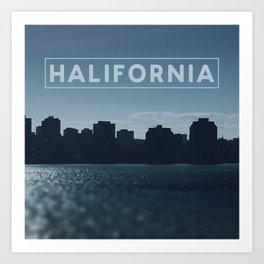 Halifornia Art Print