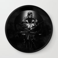 punisher Wall Clocks featuring The Punisher by dTydlacka