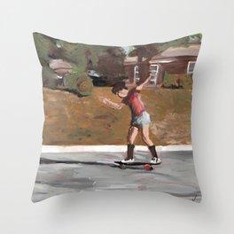 Gotta go fast Throw Pillow