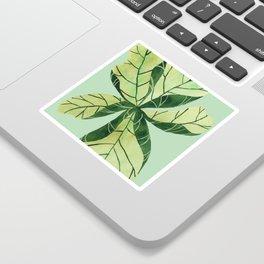 Leaf flower Sticker