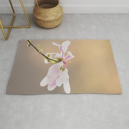 Find your time to bloom Rug