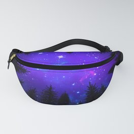 Magical Forest Galaxy Night Sky Fanny Pack