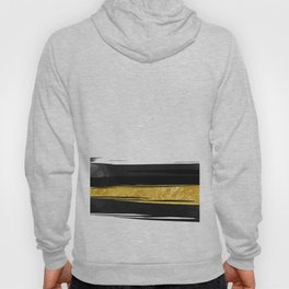 Gold and Black Stripes Hoody