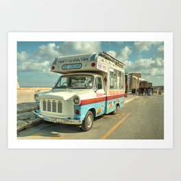 Transit Ice Cream  Art Print