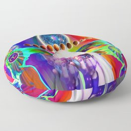 'The Divine Clairs, Extrasensory Perceptions & Abilities Floor Pillow