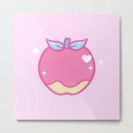 Cutie Apple Metal Print