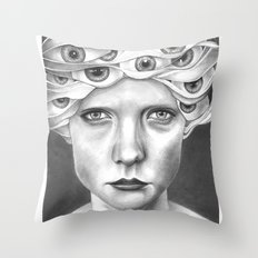 anthem for a seventeen year old series n5 Throw Pillow