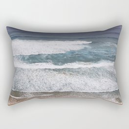 Surfers Paradise Wild West Coast Of Portugal Rectangular Pillow