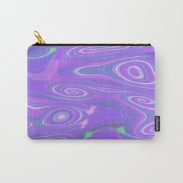 Digital Marble Painting Carry-All Pouch