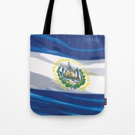El Salvador Fancy Flag Tote Bag