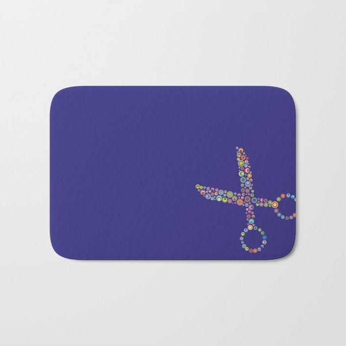 scissors / tijeras Bath Mat