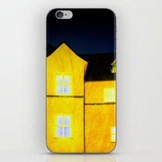 One cold night in Bergen 01 iPhone & iPod Skin