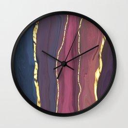 Rock Slice Wall Clock