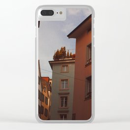 Zurich Alley VI Clear iPhone Case