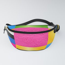 Licorice Candy Art Fanny Pack