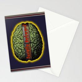 The Socially Awkward Brain Stationery Cards