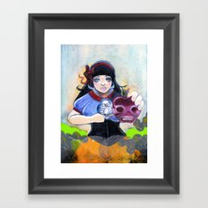 Watch Out For Them Bad Apples Framed Art Print