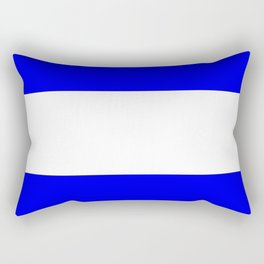 International maritime signal flag sea alphabet collection letter j Rectangular Pillow