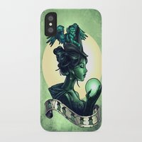 wicked iPhone & iPod Cases featuring WICKED by Tim Shumate