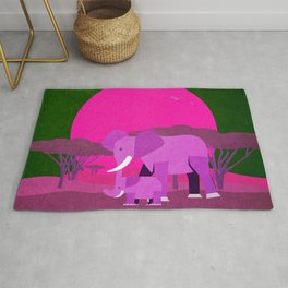 Save the wildlife 5 Rug