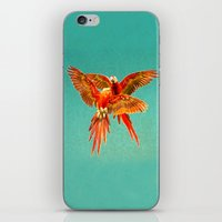 karu kara iPhone & iPod Skins featuring INFLIGHT FIGHT by Catspaws
