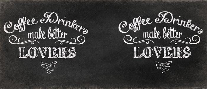 COFFEE DRINKERS MAKE BETTER LOVERS Coffee Mug