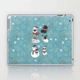 Christmas French Bulldog Laptop & iPad Skin