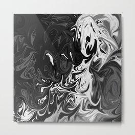 Liquified pt 2 Metal Print