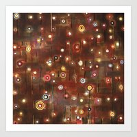 constellation Art Prints featuring constellation by davina pallone