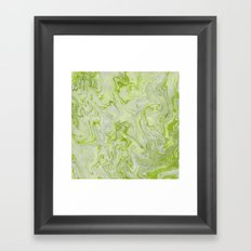 Marble Twist XII Framed Art Print