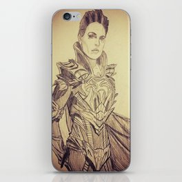 A Strange Visitor from another Planet... iPhone Skin