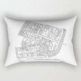 Lower East Side, NY Rectangular Pillow