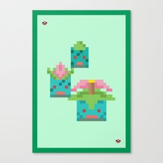Green Family Canvas Print