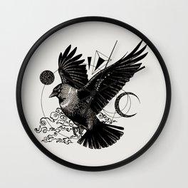 Jackdaw Wall Clock