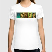 watchmen T-shirts featuring It's Always Sunny in Watchmen - Group by Jessica On Paper