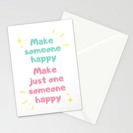 Make Someone Happy Stationery Cards