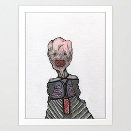 Chatterer Cenobite Art Print